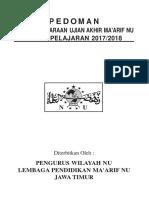 Pedoman UAMNU 2017-2018