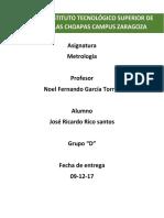 UNIDAD 3 Metrologia