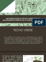 Gestión.implementación de Techos Verdes Para El Mejoramiento Estético 2.0