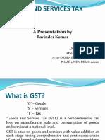 Types of Supply GST