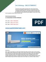 Bata Hebel Malang - 082257888307