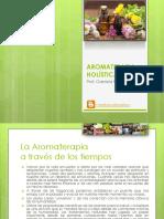 Aromaterapia Historia