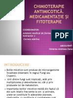 Chimioterapie Antimicotică. Medicamentație Și Fitoterapie - Ppt Licenta Postliceala