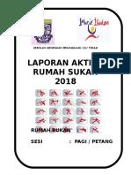 Buku Laporan Rumah Sukan 2018