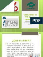 Calculando El IVA de Una Operación