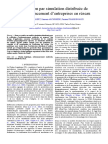Validation Par Simulation Distribuee de Lordonnancement Dentreprises en Reseau