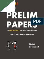 Exam18 ICSE Sample Paper English Literature