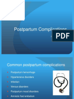 Perinatl Postpartum Complications