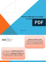 Sistemul de Management Al Calitii. Cerine