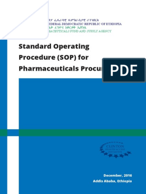 8  Procure SOP compressed | Procurement | Pharmaceutical Drug
