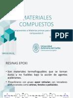 Componentes Materiales Compuestos II