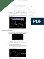 Autocad _ Cara Membuat Garis Polyline Melengkung Seperti Spline - GRAFIS - MEDIA