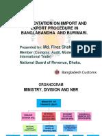 Session 11 Border Crossing Procedures in Bangladesh