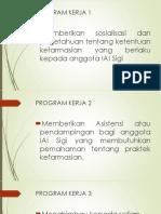 Program Kerja Apoteker