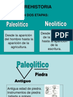 PALEOLITICO- NEOLÍTICO editado