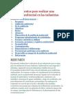 Procedimientos para realizar una auditoría ambiental en las industrias