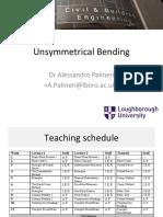 Unsymmetrical Bending 4