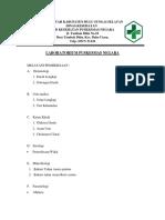 brosur pelayanan laboratorium
