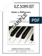 Make a Difference Sample