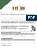 Transformer Construction and Transformer Core Design