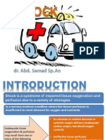 3. Manajemen Dan Tatalaksan Syok - Dr. Abd Samad, Sp.an