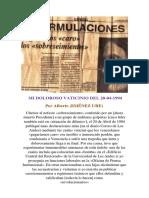 Mi Doloroso Vaticinio Del 20-04-1994