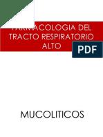 2.1 Farmacologia Del Tracto Respiratorio Superior