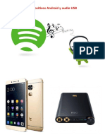 Dispositivos Android y Audio USB