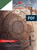 D&D 5E - Unearthed Arcana - Magia Negra Ancestral - Biblioteca Élfica