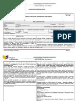 PCA - Planificación Curricular Anual DT 3BGU 2018
