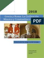 Grecia y Roma_La Civilización Minoica y Constantino El Grande