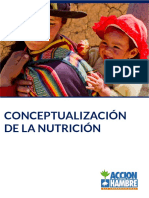 Conceptualización de La Nutrición