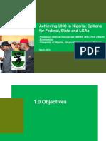 UHC in Nigeria
