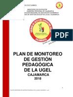 Plan de Monitoreo de Gestión Pedagógica de Ugel Cajamarca-web