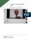 Evidence against Asoka Brian Senewiratne, born 16 January 1932 in Urapola, Sri Lanka $,2000.00