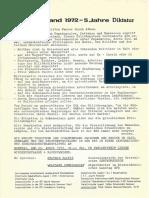1507-Griechenland 1972 - 5 Jahre Diktatur - Hannover Απρίλης 1970