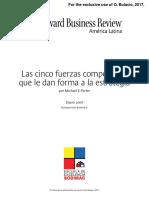 Books Las Cinco Fuerzas Competitivas Que Le Dan Forma a La Estrategia R0801EPDFSPA