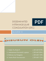 Disseminated Intravaskular Coagulation (DIC)
