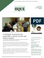 A Utilização Consciente Dos Pesticidas_ o Cálculo Correto Das Doses a Aplicar – Jornal de Monchique
