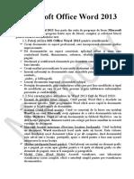 Office Word 2013 Manual de Curs
