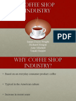 Coffee Shop Industry