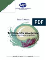 Investigacion Cualitativa Julio Valdez
