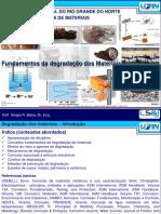 Degradação dos Materiais de Engenharia
