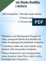 Pengaruh Hindu Buddha Di Alam Melayu