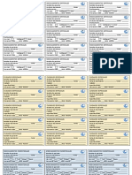 Etiquetas de Medicamentos