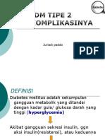 Diabetes Melitus Type 2 Dan Komplikasinya