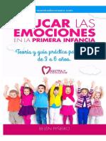 Belén Piñeiro - Educar Las Emociones en La Primera Infancia (3 a 6 Años)