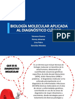 Biología Molecular Aplicada Al Diagnóstico Clínico