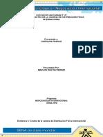 Evidencia 4 Costeo de La Cadena de Distribución Física Internacional