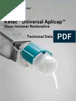 Ketac Universal Aplicap TDS Ltr 144iOS